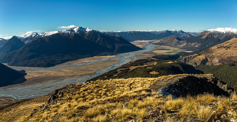 ARTHUR'S PASS - SOUTH ISLAND, NEW ZEALAND